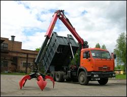 Аренда грейфера для погрузки и разгрузки сыпучих грузов