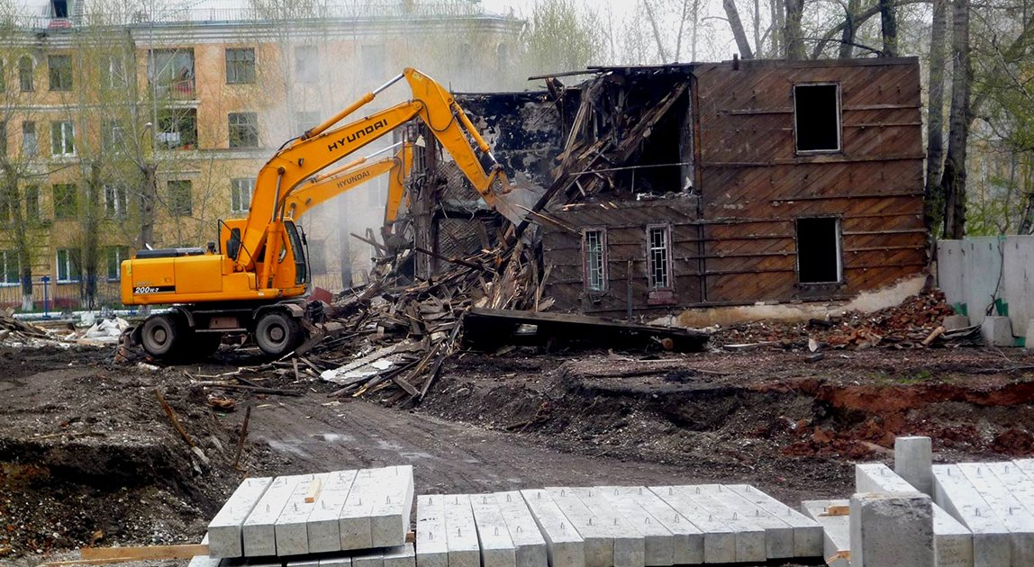 Демотаж и снос зданий
